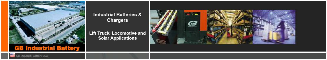 Industrial Batteries For Forklift Trucks
